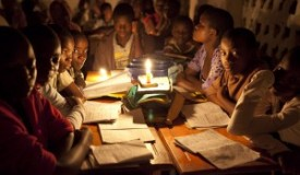 Kenyans-studying-by-candlelight