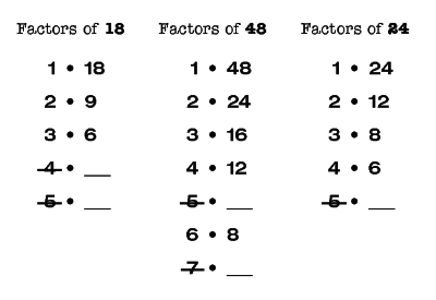 Factors Answers d