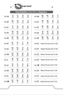 Division 10s, 11s, 12s - Rocket Math