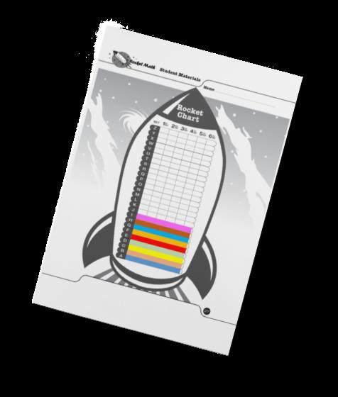 Rocket Math Rocket Chart